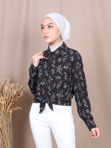 POPIES BLOUSE SHIRT BT706