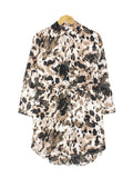 LEOPARD PRINTED TUNIC BT974
