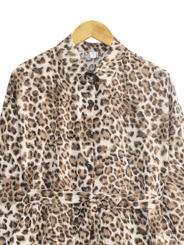LEOPARD PATTERN TUNIC BT881
