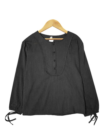 ANNA LONG SLEEVES BLOUSE BT885