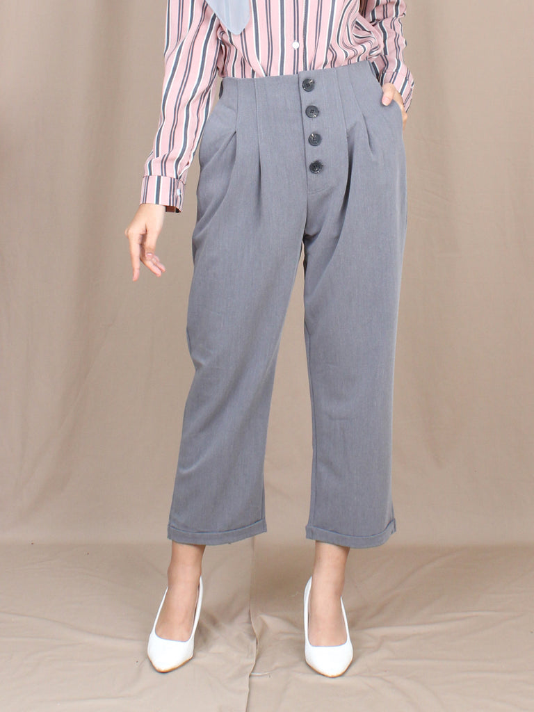 HIGH WAISTED OFFICE PANTS BP048