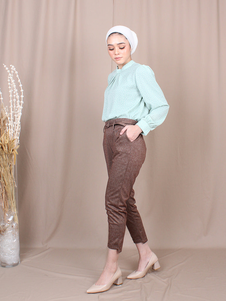 STRAIGHT FIT TROUSERS PANTS BP074