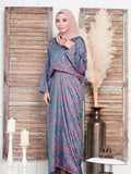 MARRAKECH KILIM PRINTED PARIO DRESS BD171