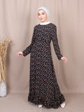 MELINDA LONG SLEEVES DRESS BD250