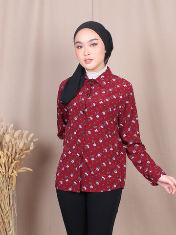VIOLET BLOUSE SHIRT BT708