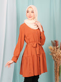 LAYERED PLAIN TUNIC  BT947