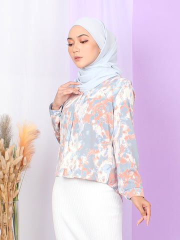 PASTEL PATTERN BLOUSE BT927