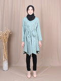 PLAIN LONG RUFFLE SHIRT BT303