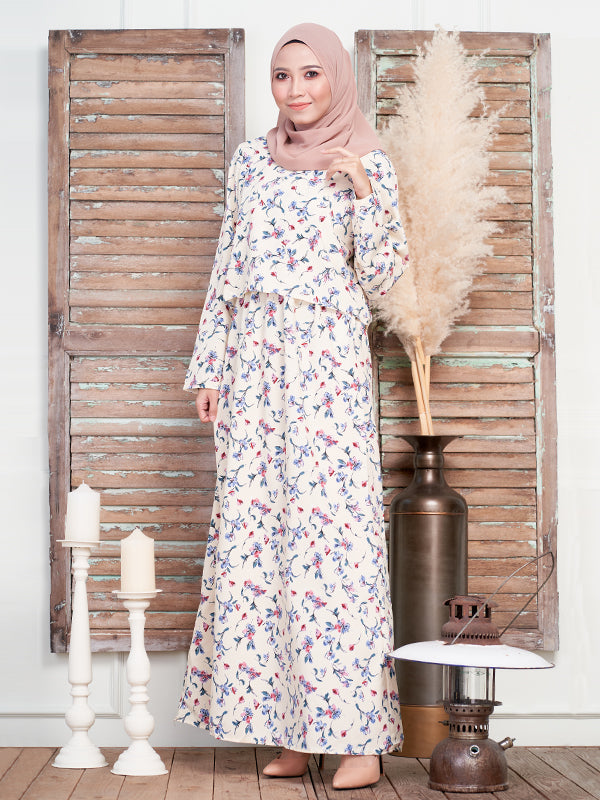 ORCHID CROP LAYERED DRESS BD183