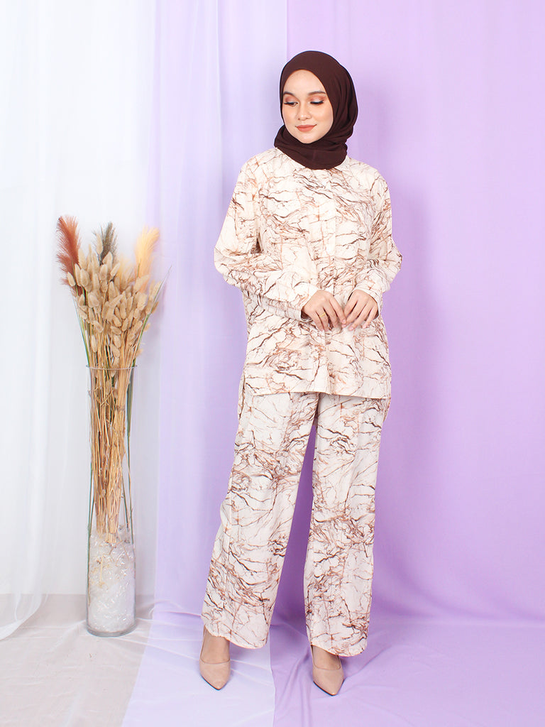 MARBLE PRINTED SET TS20
