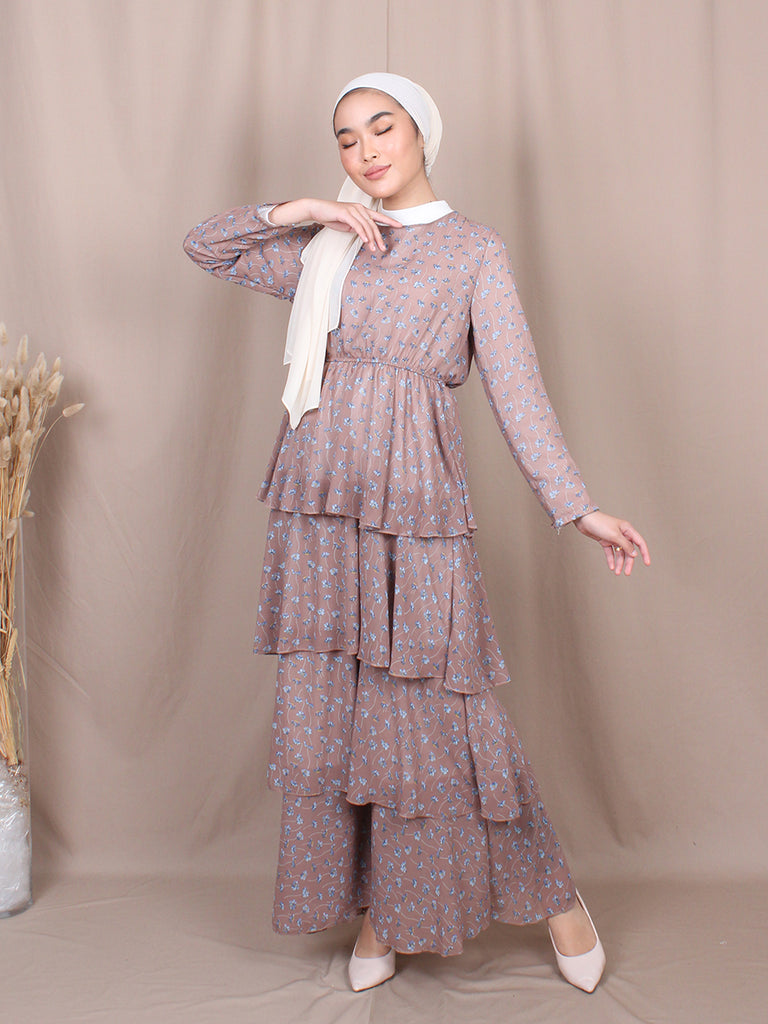 MELINDA LAYERED DRESS BD254