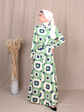 DRAWSTRING MOSTAC DRESS BD244
