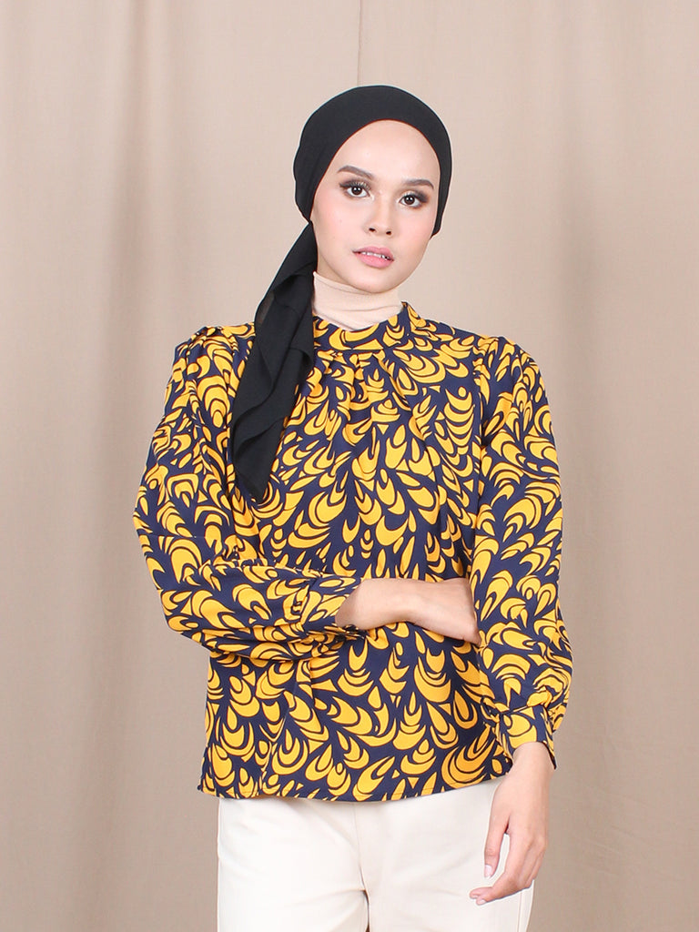 MARYA LONG SLEEVES BLOUSE BT766