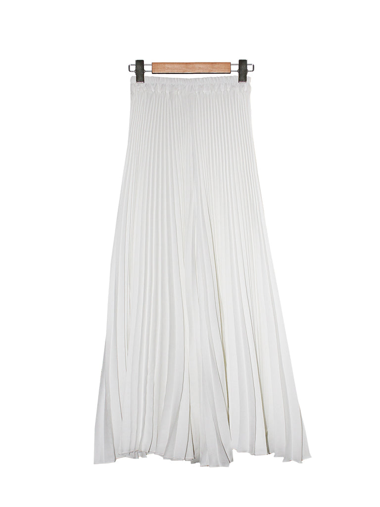 PLEATED WIDE PALAZZO BP093
