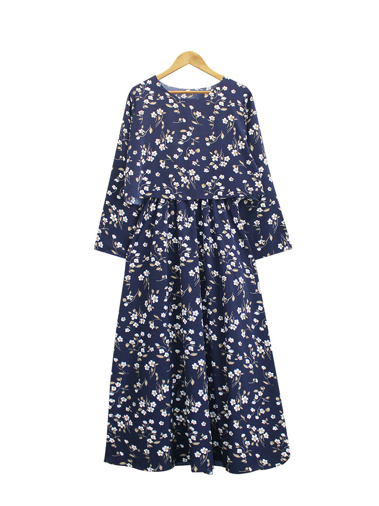 CAMOMILE CROP LAYERED DRESS BD224