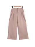 BASIC STRAIGHT CUT PANTS BP049
