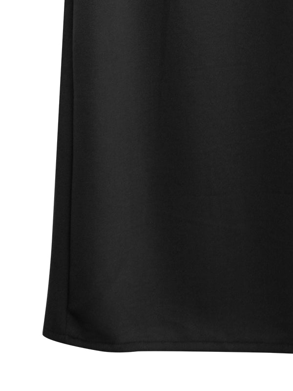 PLAIN TEXTURED STRETCHY SKIRT BS12