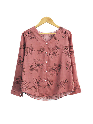 COUNTRY FLOWER TOP BT484