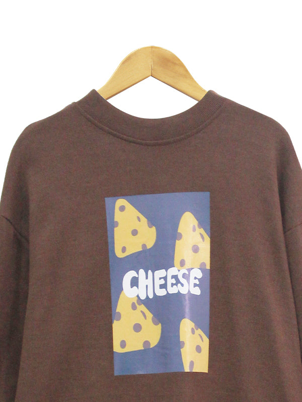 LONG SLEEVES CHEESE TOP BT568