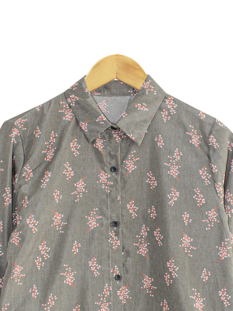 FLORAL BOUQUET BLOUSE SHIRT  BT729