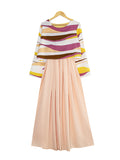 WAVELY CROP LAYERED DRESS BD243