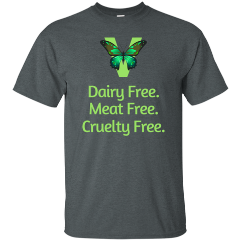 Vegan Dairy Meat Cruelty Free T-Shirt
