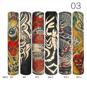 6pcs/set Elastic Tattoo Sleeves Accessories Maquiagem Temporary Auti Sun Temporary Tattoo Accessories Kit - My Beauty Line