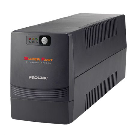 PROLiNK Line Interactive UPS 850VA with AVR + USB port - PRO851SFCU
