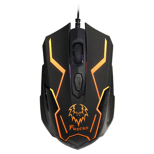 PROLiNK Fuscus 7-Colour Illuminated Gaming Mouse -PMG9005