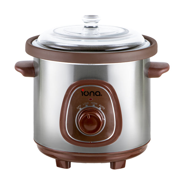 Iona 3.5L Purple Clay Auto Slow Cooker - GLSC350