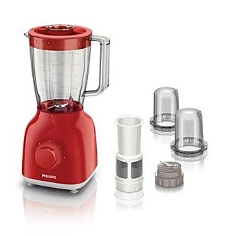 Philips Daily Collection Blender (Red) - HR2104/53