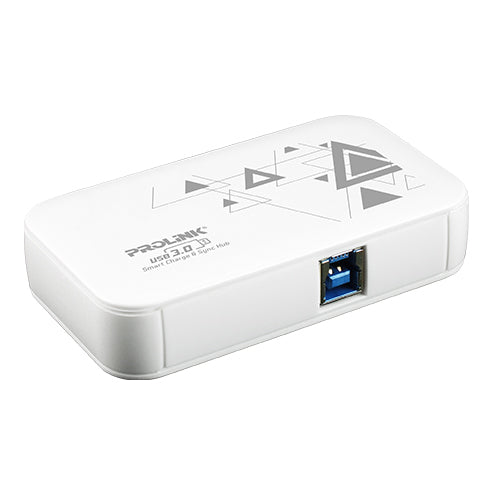 PROLiNK USB 3.0 4-ports Smart Charge & Sync Hub - PUH303