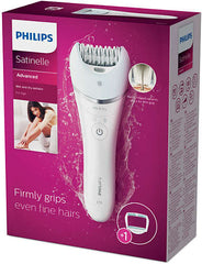 Philips Satinelle S-shaped Advanced Epilator - BRE610/00