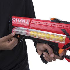 Nerf Rival Zeus MXV-1200 Blaster - B1591-Red