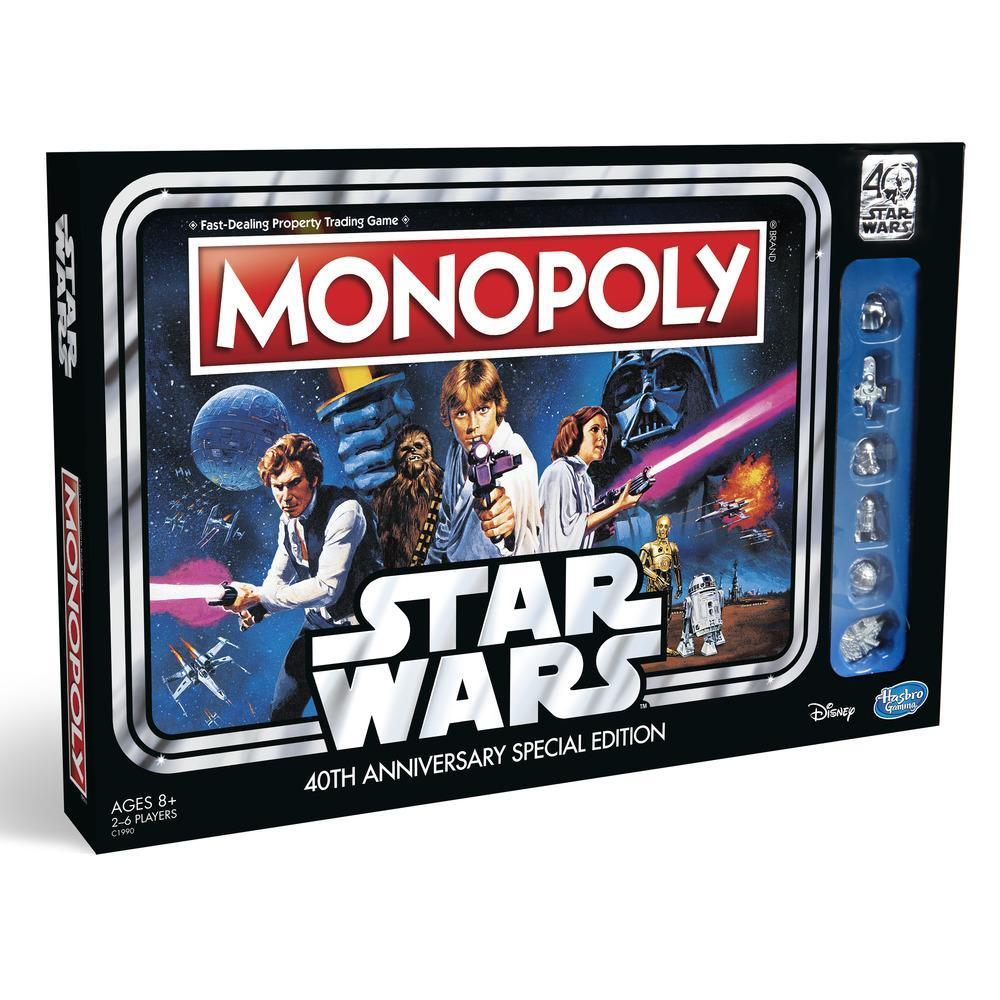 Monopoly Game: Star Wars 40th Anniversary Special Edition - C1990