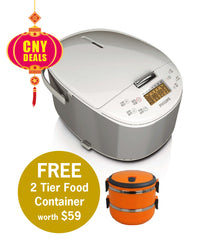 Philips Avance Collection Sensor Touch Rice Cooker 1.8L - HD3077/62