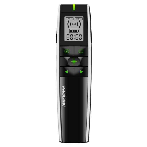 PROLiNK 2.4 GHz Wireless Presenters w/Green Laser - PWP105G