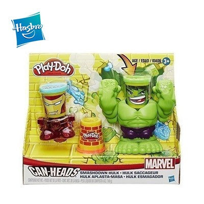 Hasbro Play-Doh Smashdown Hulk Featuring Marvel Can-Heads - B0308