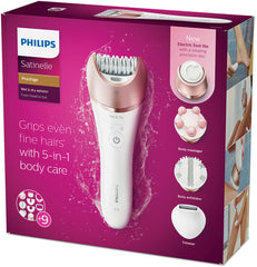 Philips Satinelle Prestige Wet & Dry Epilator + Pedi - BRE652/00