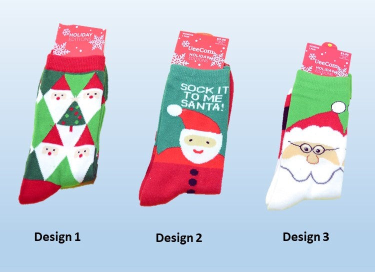 Women's Holiday Editions (Christmas) Socks - SP821