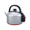 Iona 4.8L Stainless Steel Kettle with Red Plastic Base - GLK4800