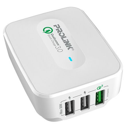 PROLiNK30W 3-Port Travel Charger with IntelliSense - PTC32501