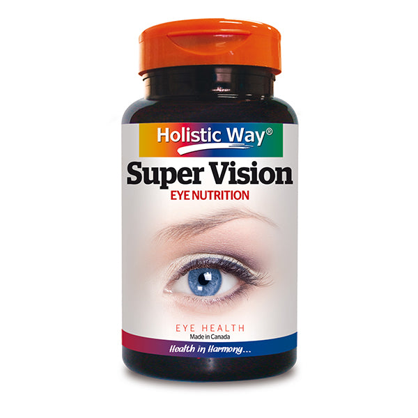 Holistic Way Super Vision – Eye Nutrition (90 Caps)