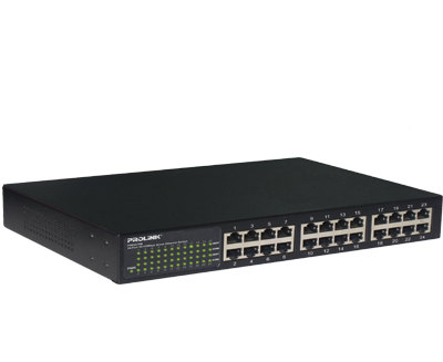 PROLiNK 24 Port Switch (10/100)Metal - PSE2410M