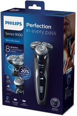 Philips Shaver series 9000 wet and dry electric shaver with Aquatec Wet & Dry - S9551