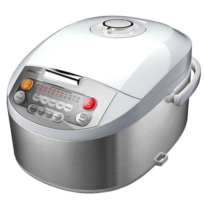 Philips Computerized Rice Cooker 1.0L - HD3031/03