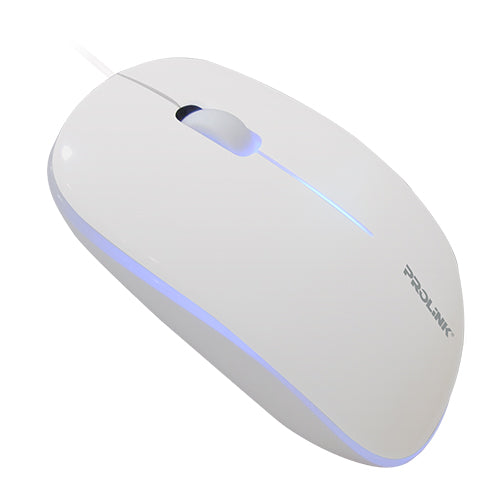 PROLiNK Optical USB Mouse 7 Color Breathing LED - PMC1003