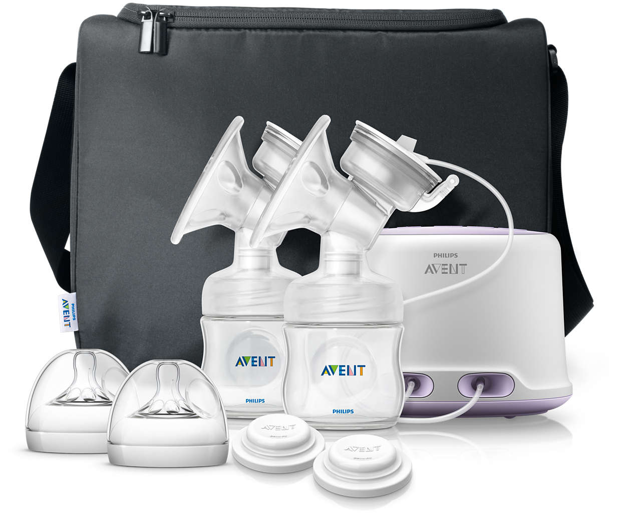 Philips Avent Comfort Double Electric Breast Pump - SCF334/02