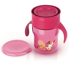 Philips AVENT Grown Up Drinking Cup 12M+  (260ml, Pink & Blue) - SCF782/20