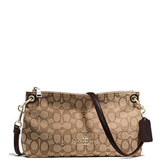 Coach Charley Crossbody Bag in Signature Brown